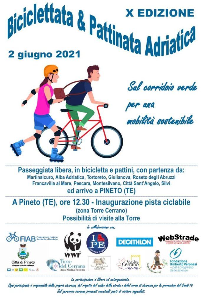 Biciclettata & Pattinata Adriatica edizione 2021 – Annuale – ogni 2 Giugno – PPUG
